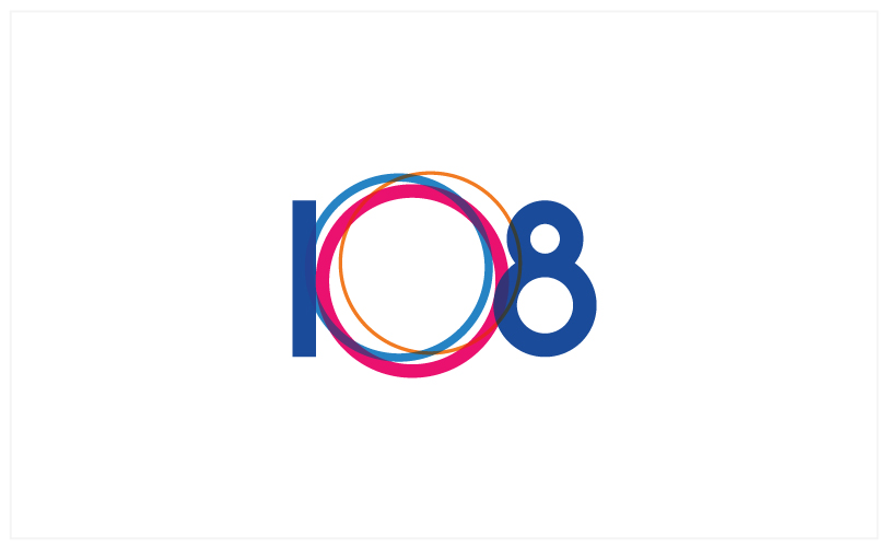 Logo Design - 108 Magazine