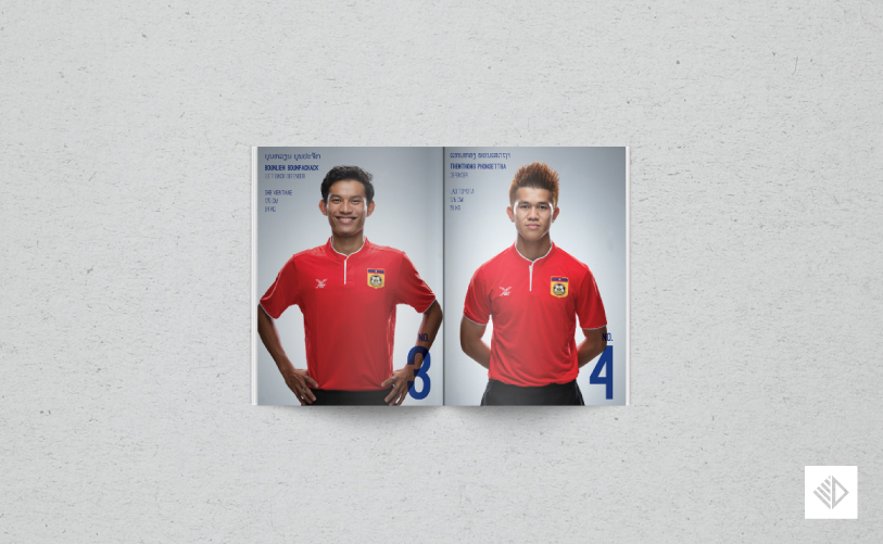 Graphic Design - AFC Under23 booklet 3