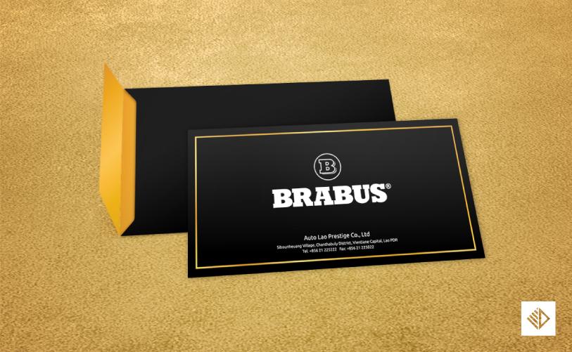 Graphic Design - BRABUS envelope