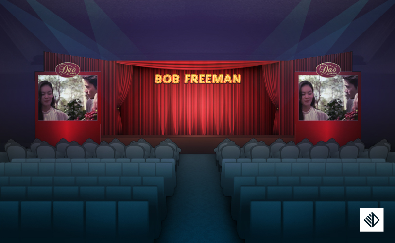 Event Design - Bob Freeman Show stage