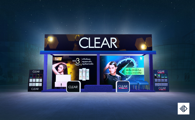 Event Design - CLEAR Booth in festival