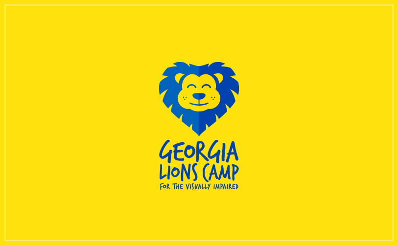 Logo Design - Georgia Lions Camp yellow
