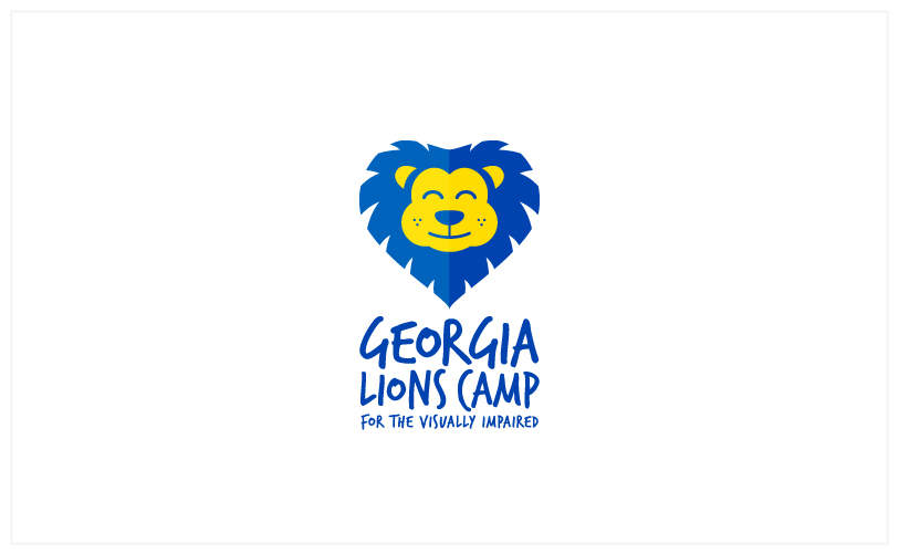 Logo Design - Georgia Lions Camp white