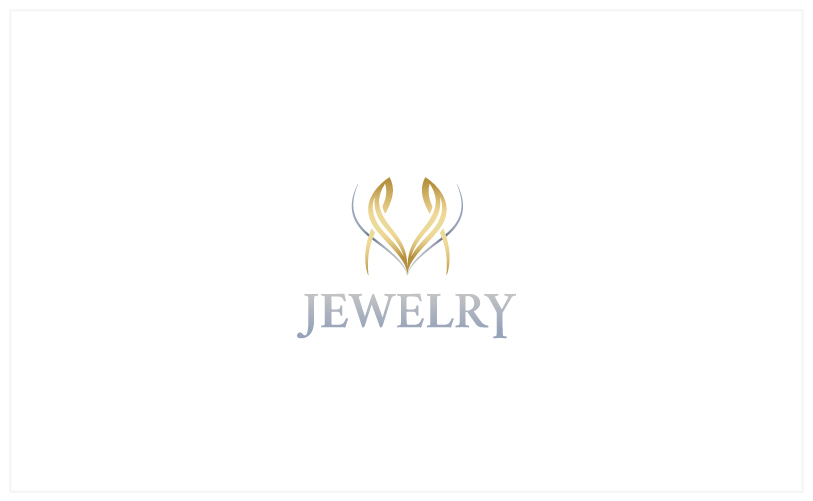 Logo Design - M Jewelry white