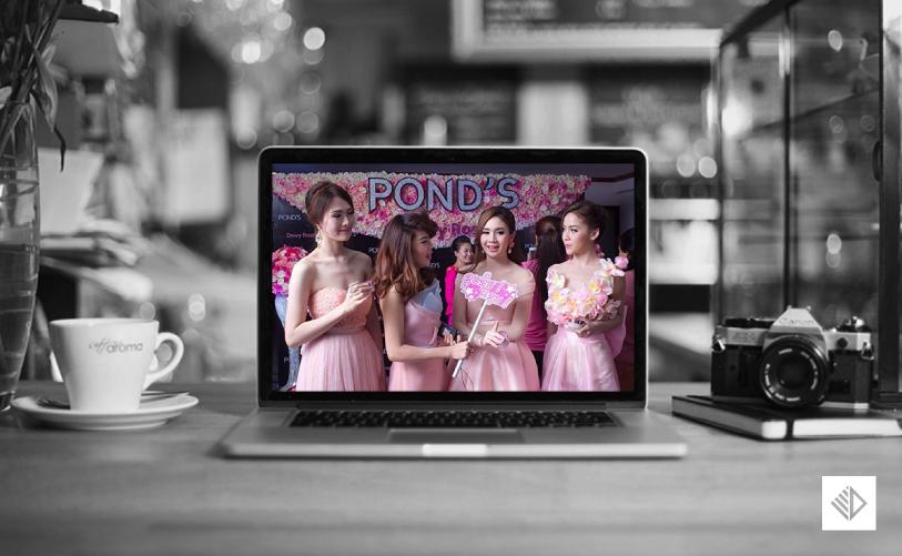Event Design - POND'S dewy rose photo