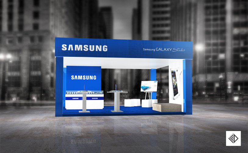 Event Design - SAMSUNG Booth