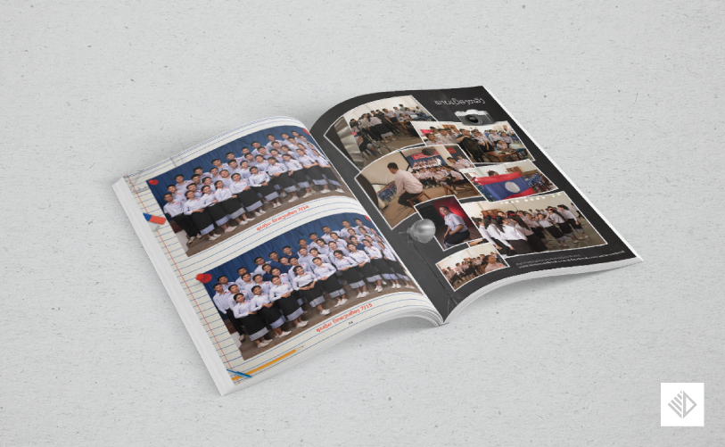 Graphic Design - School Yearbook 7