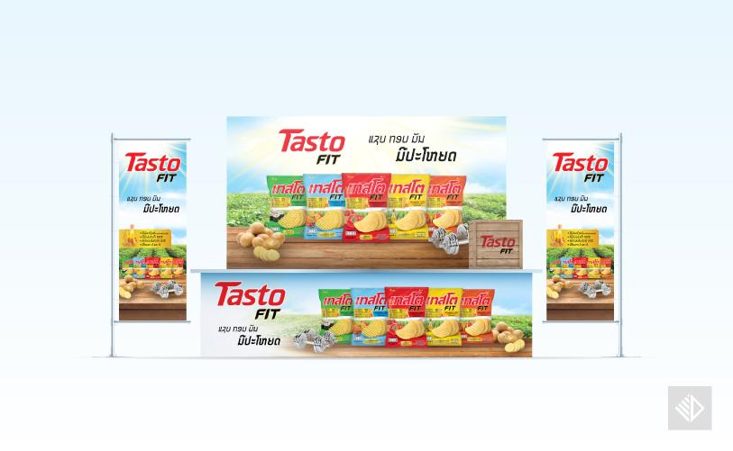 Graphic Design - Tasto FIT booth