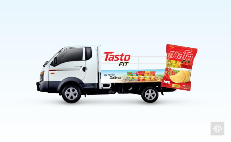 Graphic Design - Tasto FIT truck