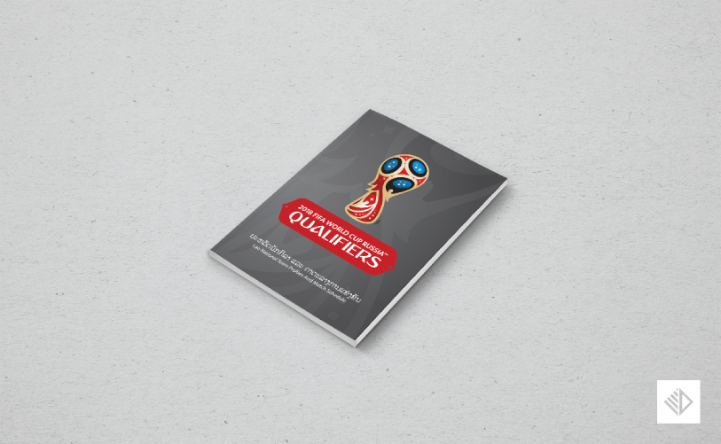 Graphic Design - World Cup Qualifiers Booklet 1