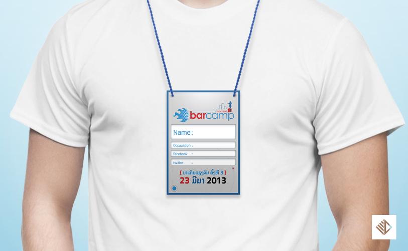 Logo Design - barcamp vientiane 3 tag