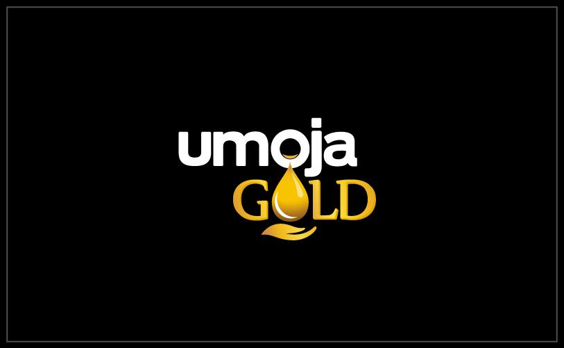 Logo Design - umoja GOLD black