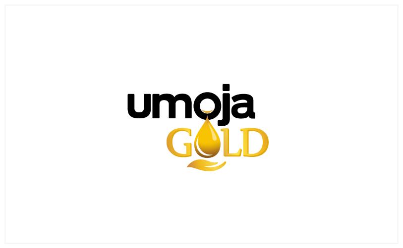 Logo Design - umoja GOLD white